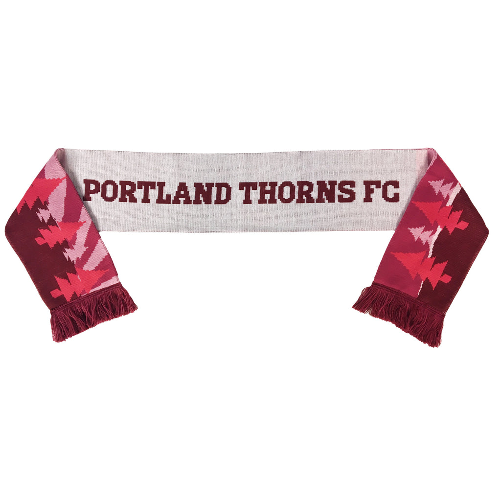 Portland Thorns FC Ruffneck Fremont Bridge Scarf - Red