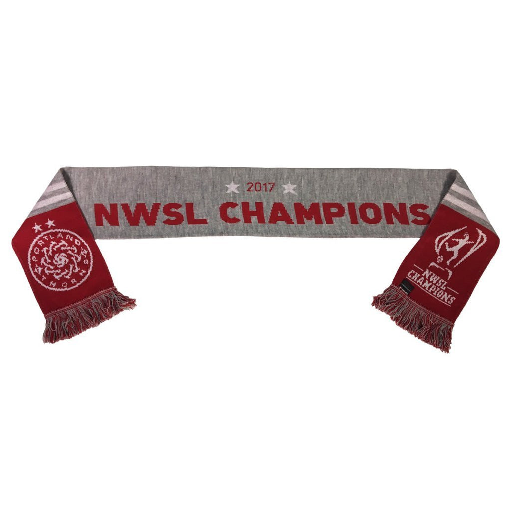 Portland Thorns FC Ruffneck 2017 NWSL Championship Scarf - Red