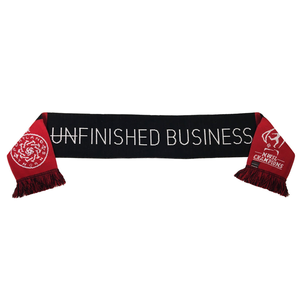Portland Thorns FC 2017 Finished Business Champions Scarf