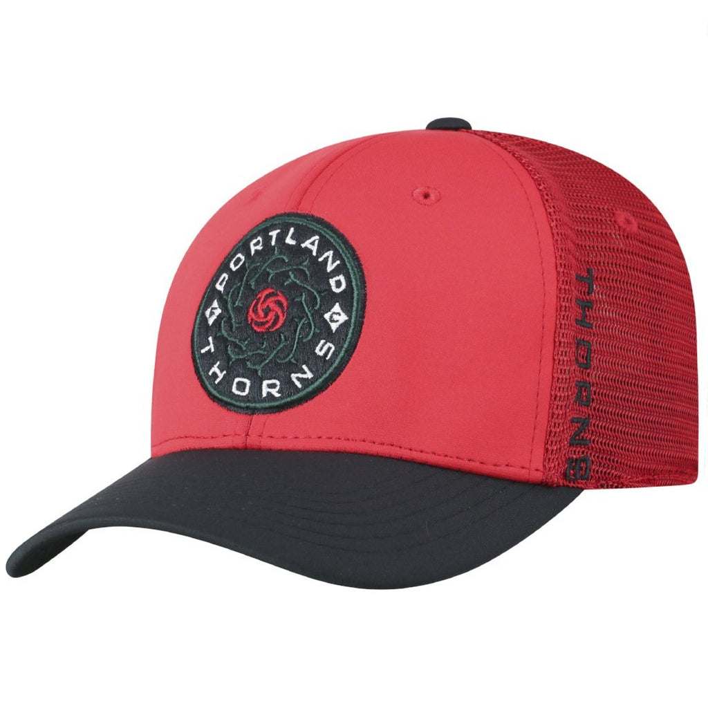 Portland Thorns FC Chatter Flex Fit Mesh Cap - Red