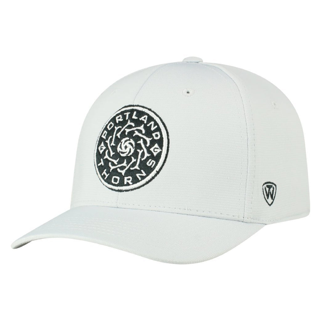 Portland Thorns FC Hypower Whiteout Flex Fit Cap - Grey