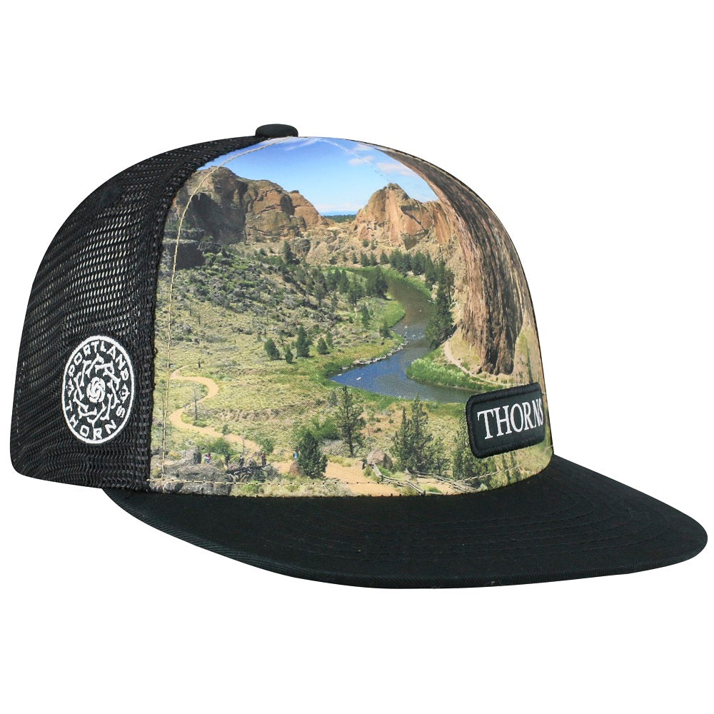 Portland Thorns FC Smith Rock Mesh Back Cap - Black