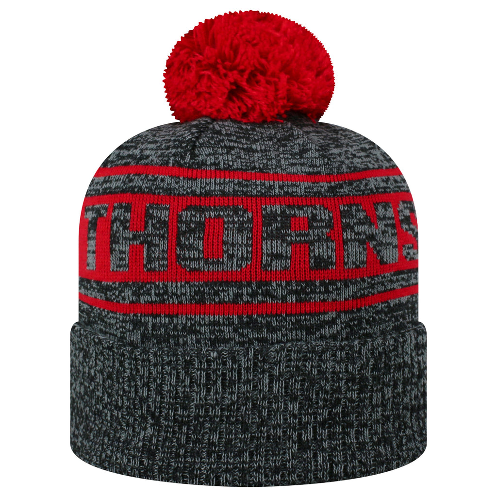 Portland Thorns FC Cuffed Pom Knit - Charcoal