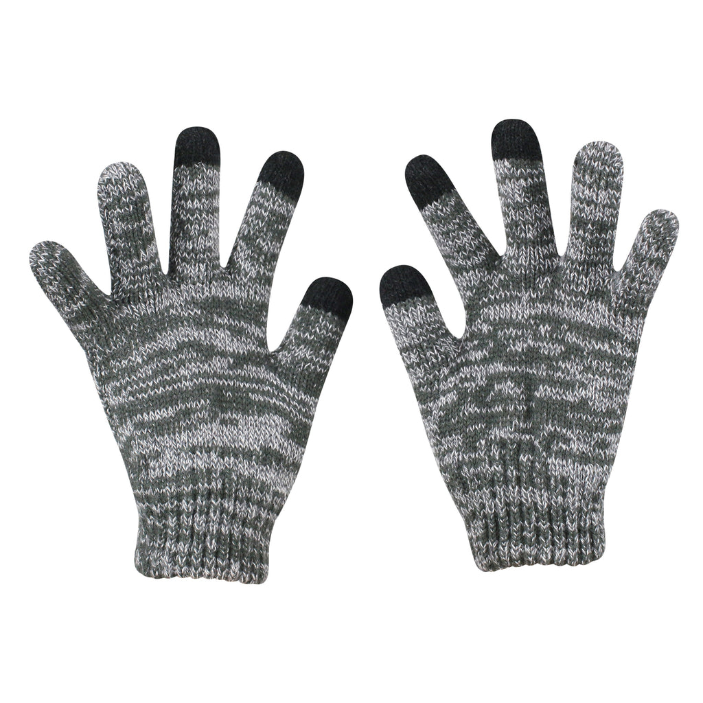 Portland Thorns FC Youth Knit & Glove Set - Charcoal