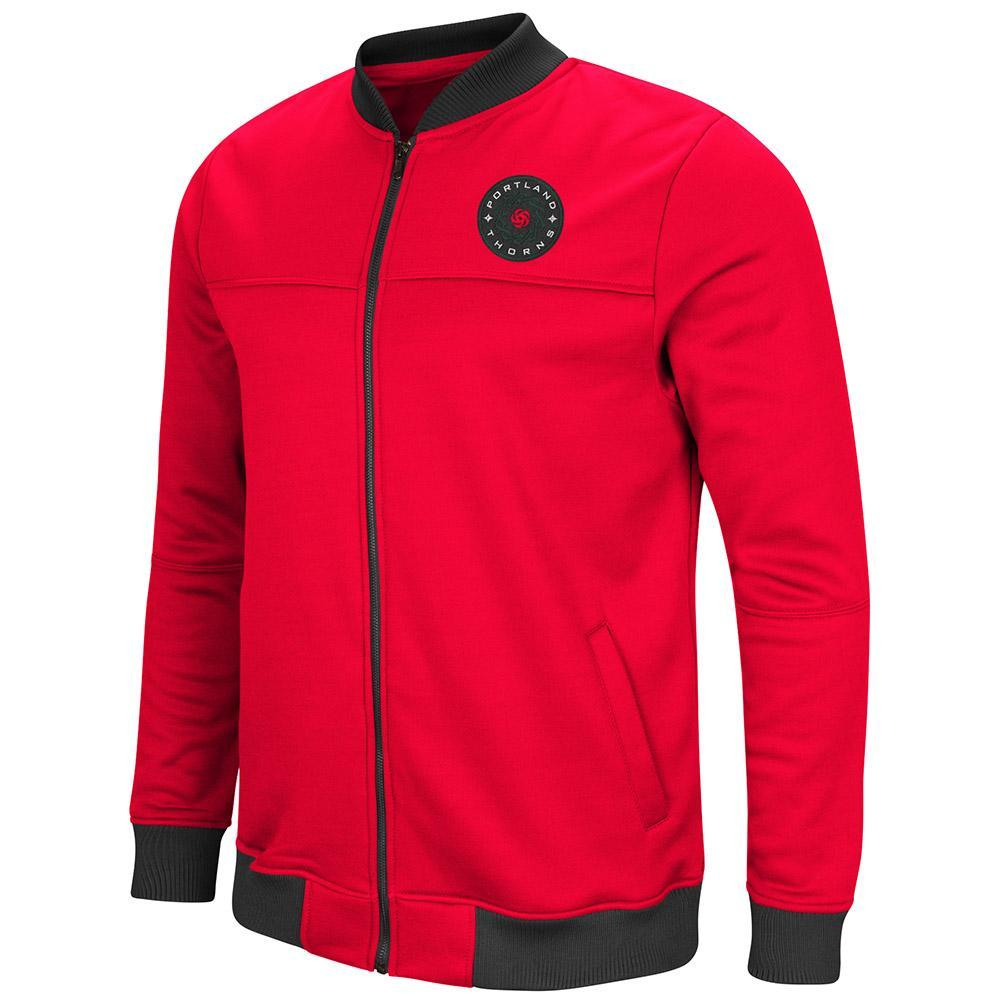 Portland Thorns FC Full Zip Track Jacket - Red