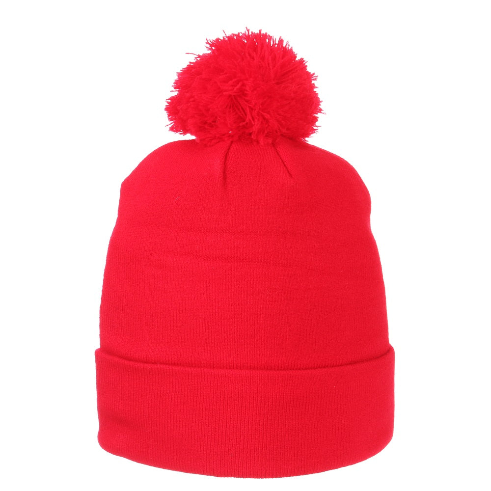 Portland Thorns Youth Jumbo Pom Knit - Red