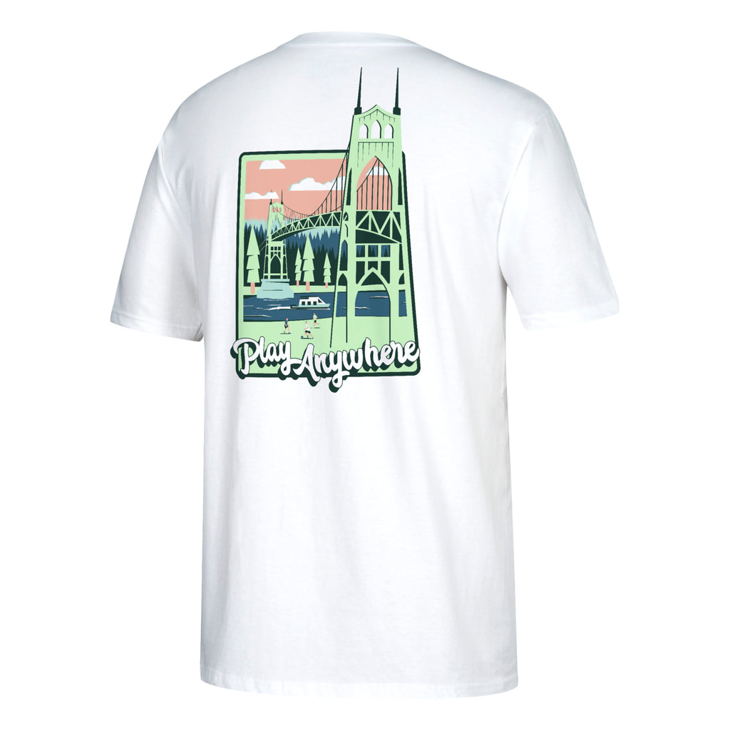 PORTLAND TIMBERS FC CAPSULE SOLLECTION ST JOHN'S SHORT SLEEVE TEE