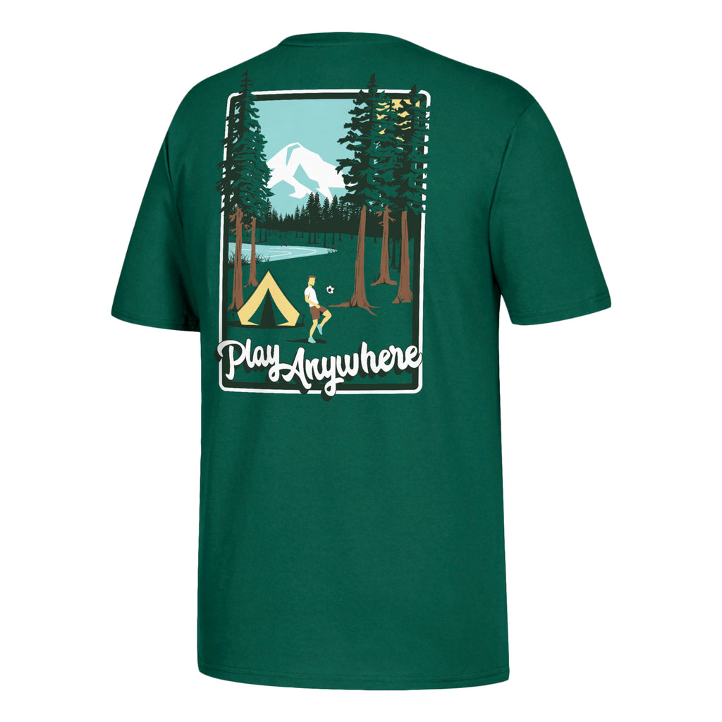 PORTLAND TIMBERS FC MT HOOD SHORT SLEEVE TEE - FINAL SALE - LAST ONE!