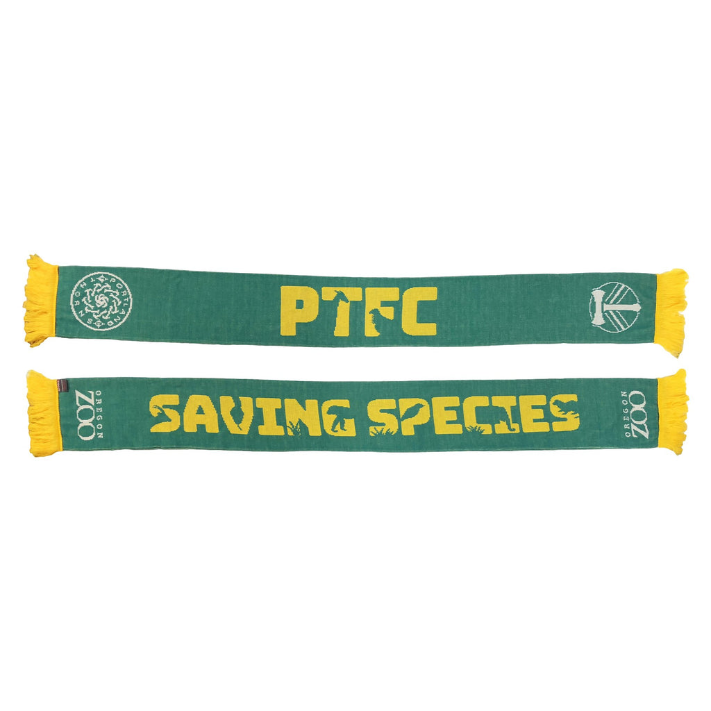 Portland Co-Branded Oregon Zoo Saving Species Scarf