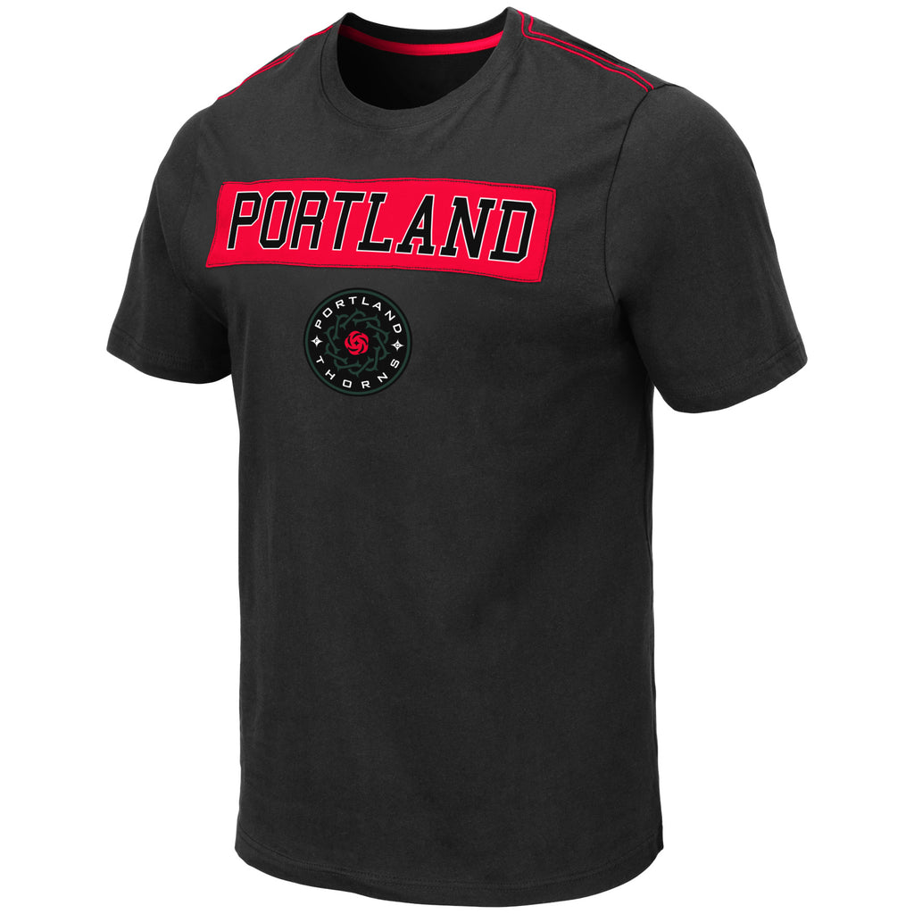 Portland Thorns Applique Tee - Charcoal