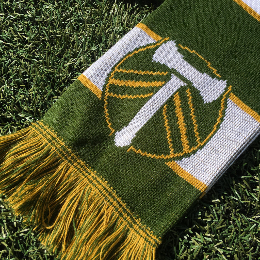 PORTLAND TIMBERS FC YOUTH BAR SCARF