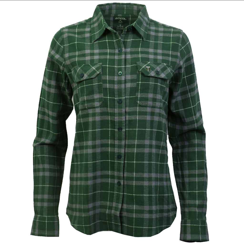 PORTLAND TIMBERS FC WOMEN'S STANCE LONG SLEEVE FLANNEL