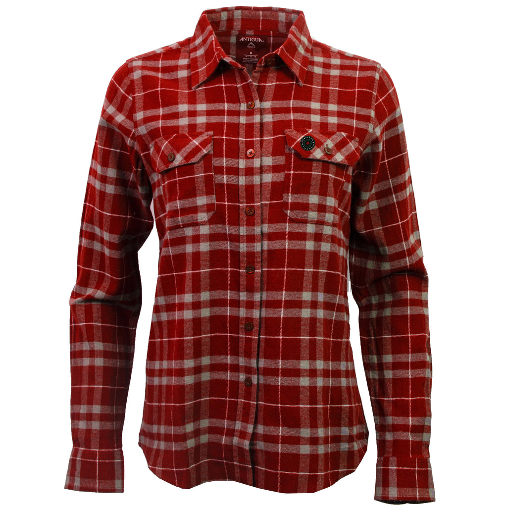 Portland Thorns Women's Flannel - Red - FINAL SALE