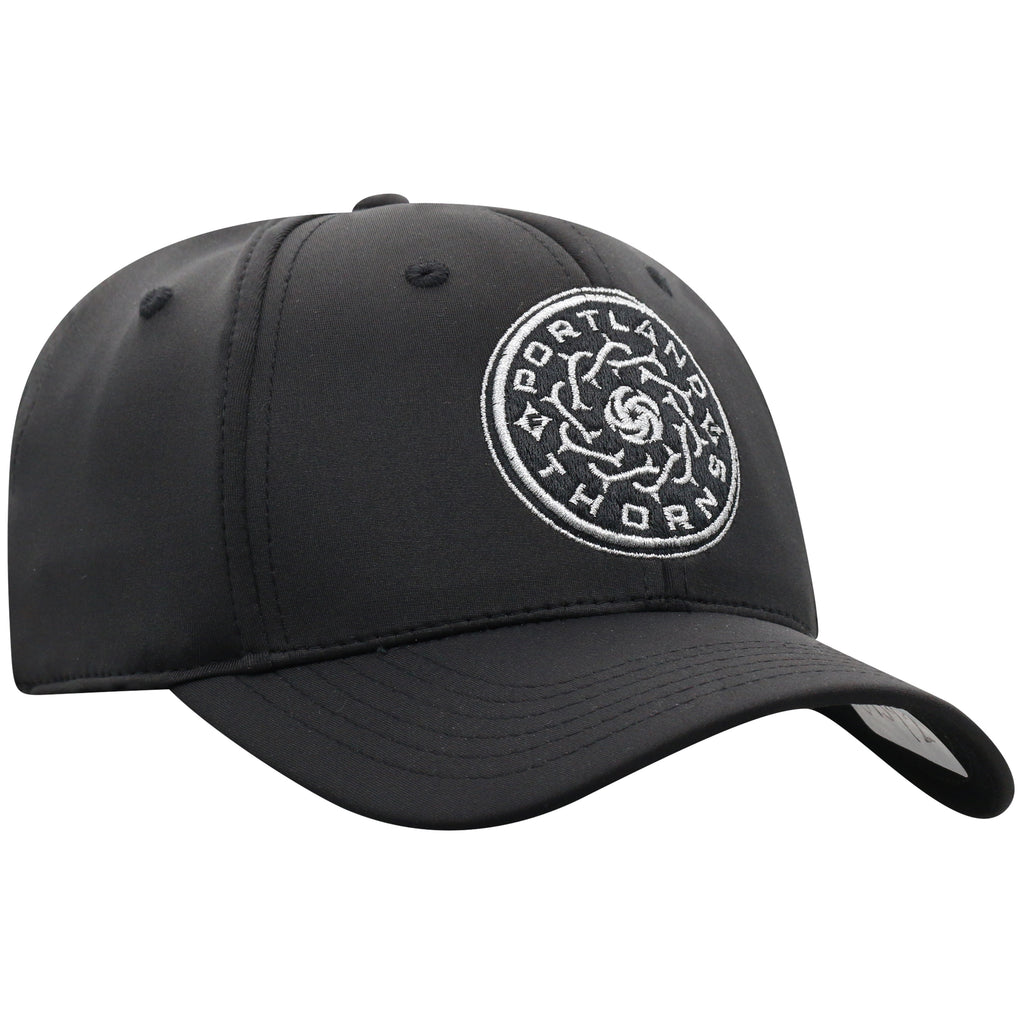 Portland Thorns Phenom 1-Fit Cap - Black