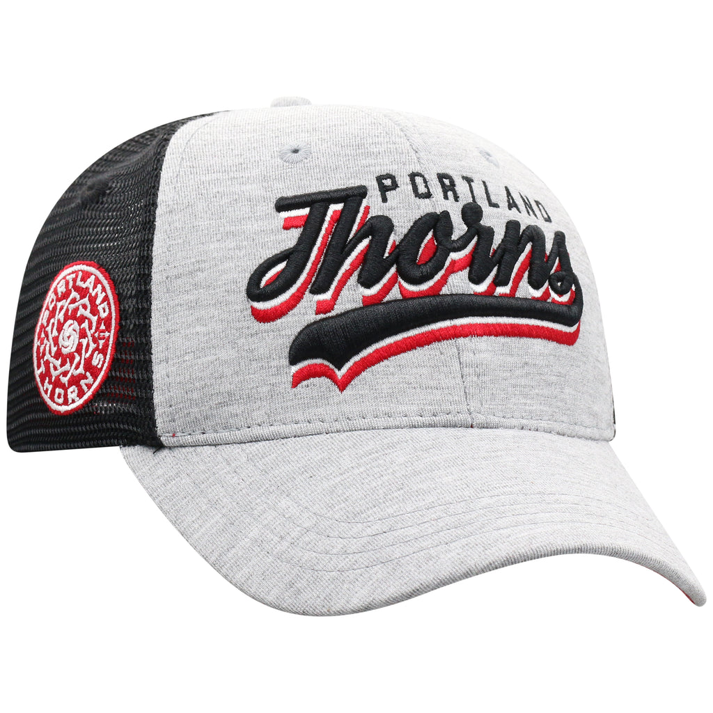 Portland Thorns Youth Cutter Mesh Back Adjustable Cap - Grey