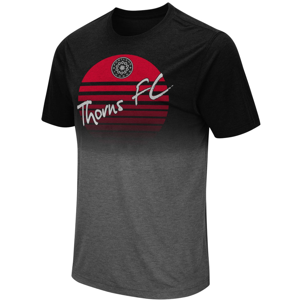 Portland Thorns Dip Dye Tee - Black - FINAL SALE