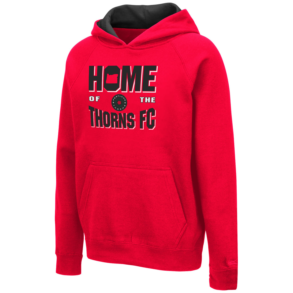 "PORTLAND THORNS FC YOUTH LONG SLEEVE ""HOME OF"" HOODIE"