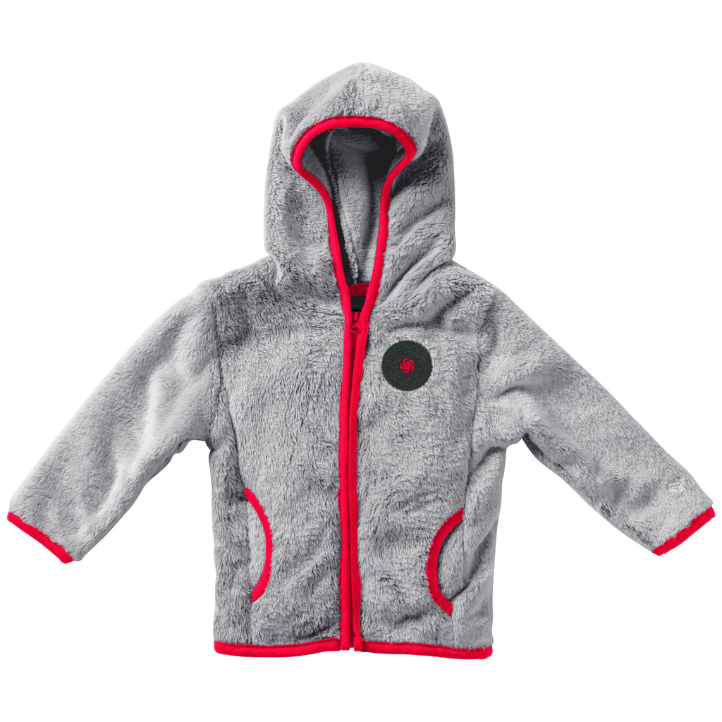 PORTLAND THORNS FC INFANT FUZZY FULL ZIP HOODIE