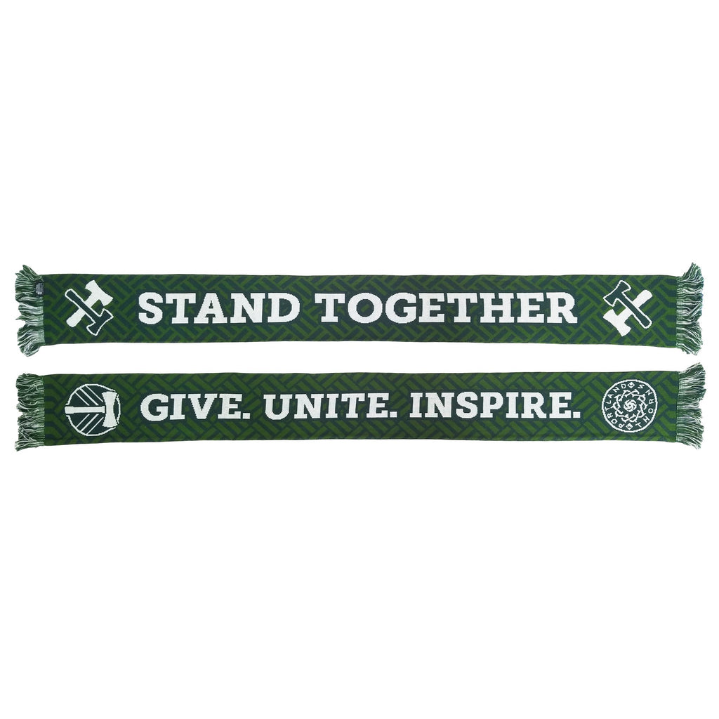 PORTLAND TIMBERS FC 2019 STAND TOGETHER SCARF