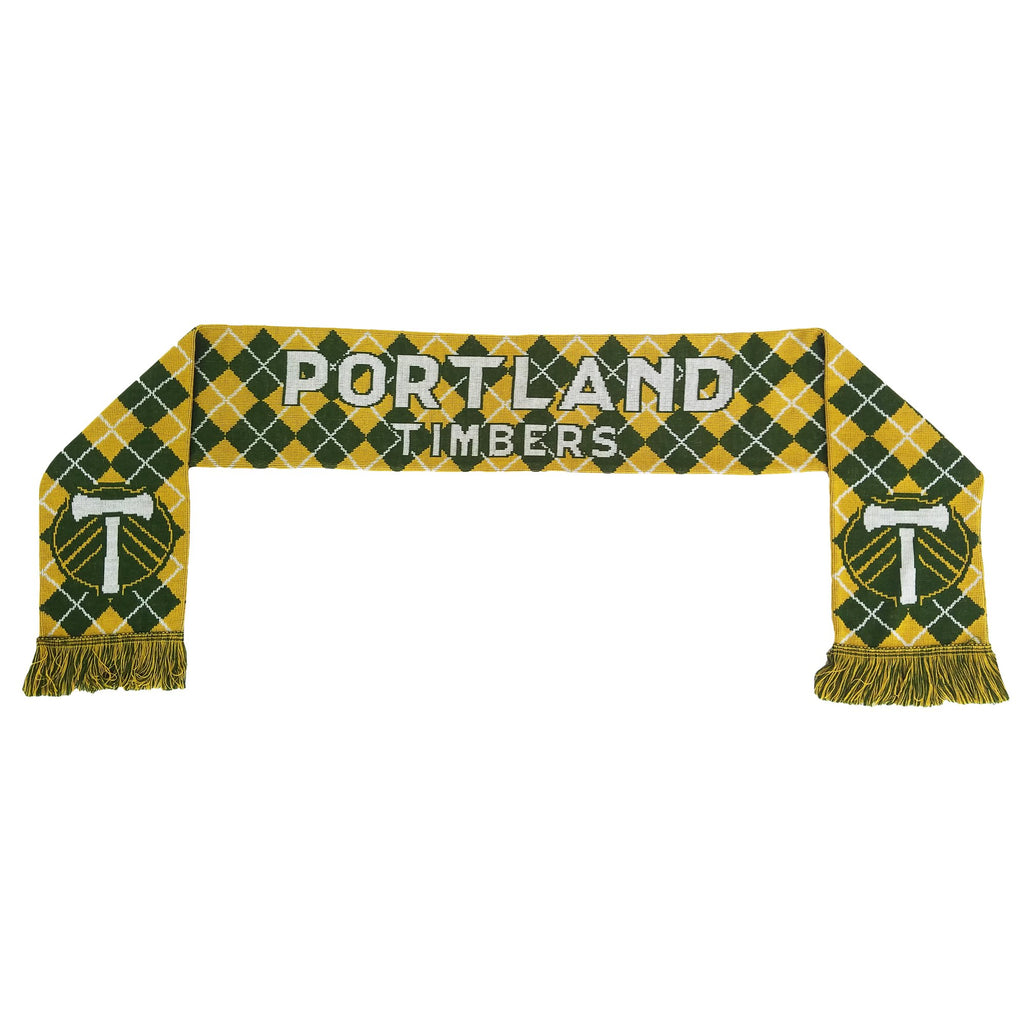 PORTLAND TIMBERS FC G&G ARGYLE SCARF