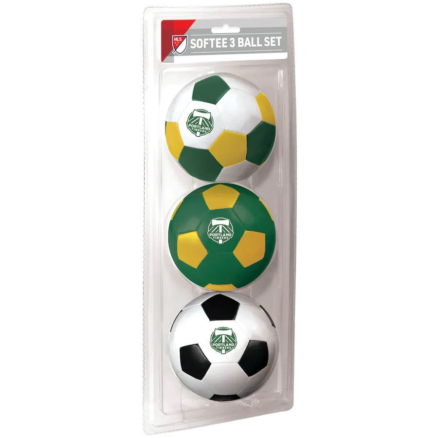 PORTLAND TIMBERS FC SOFTEE BALL 3-PACK