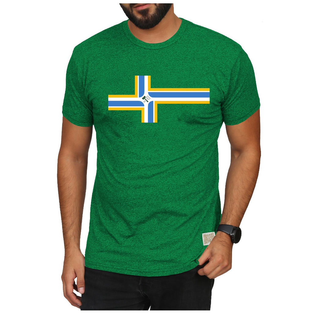 Portland Stand Together City Flag Tee - Green