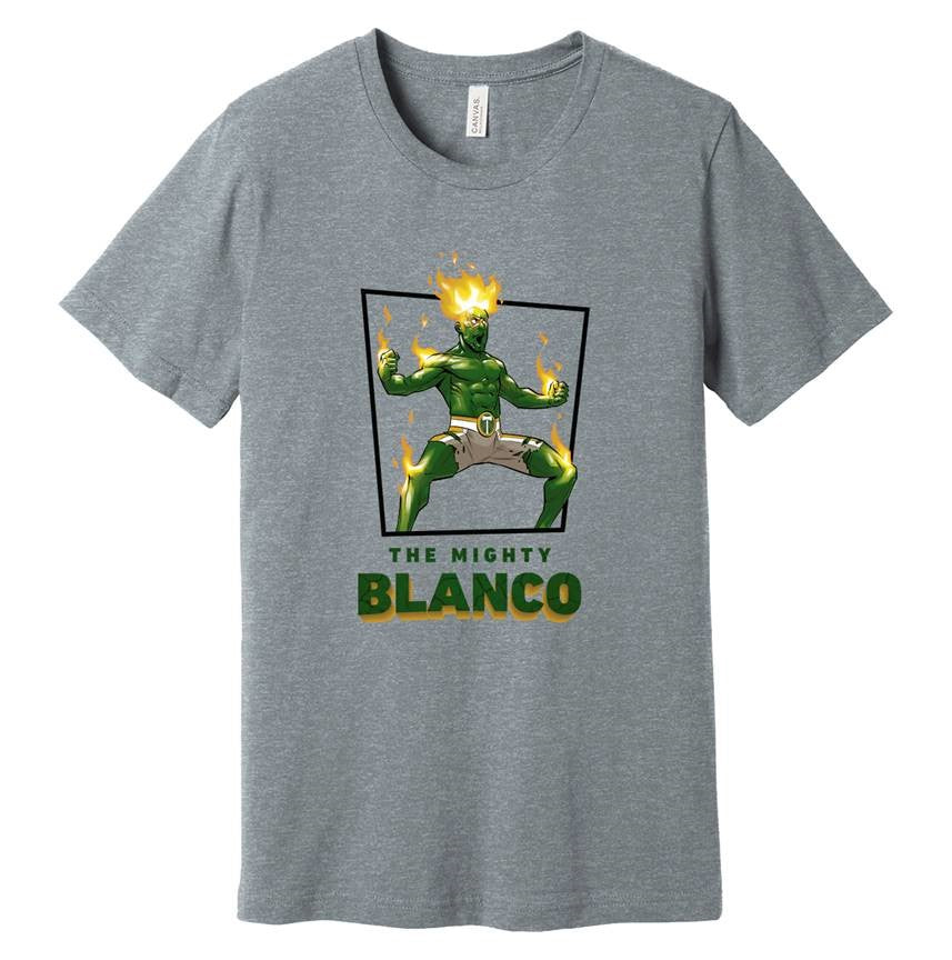 Portland Sebastian Blanco Super Hero Tee  - Grey