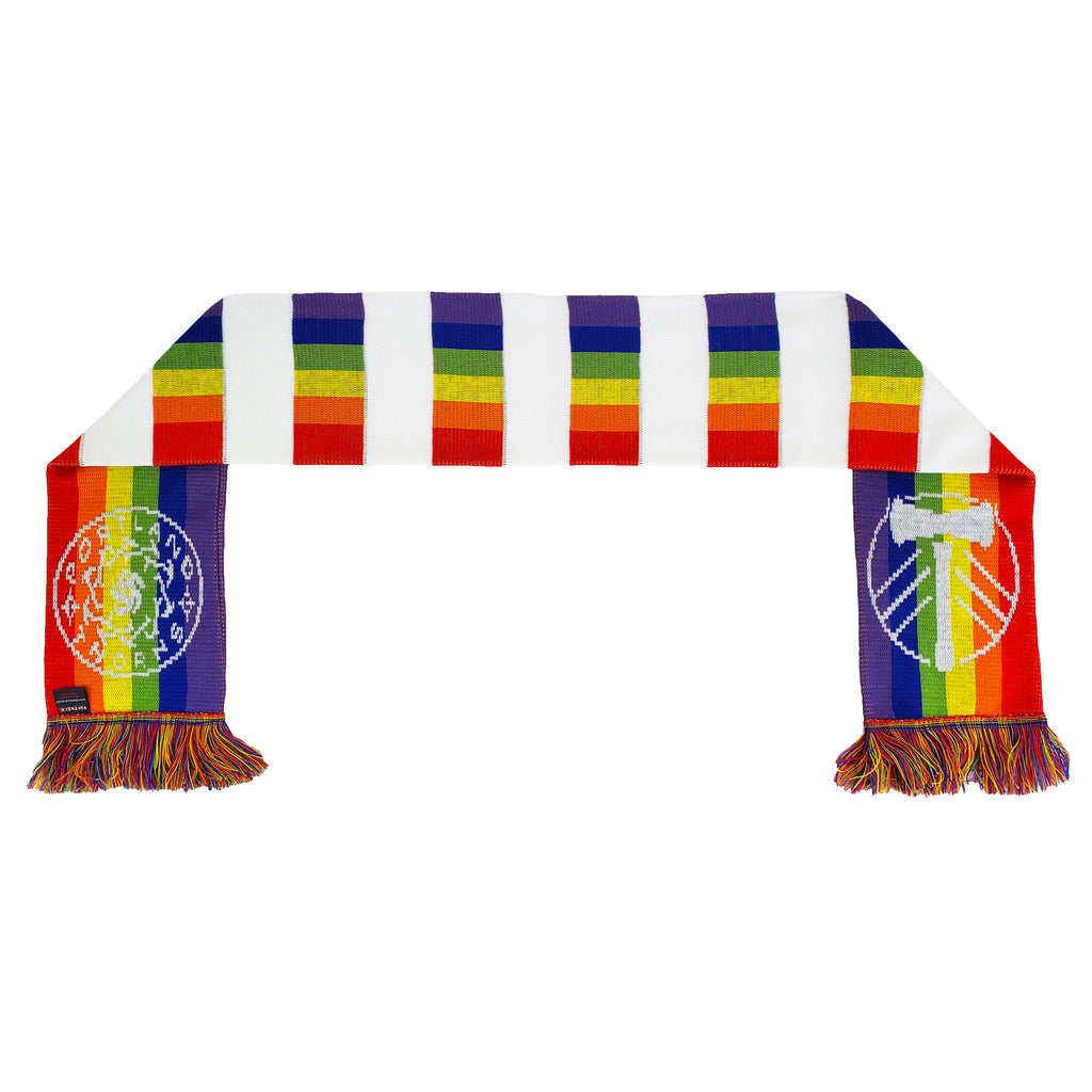 PORTLAND TIMBERS FC 2019 PRIDE CO-BRANDED SCARF