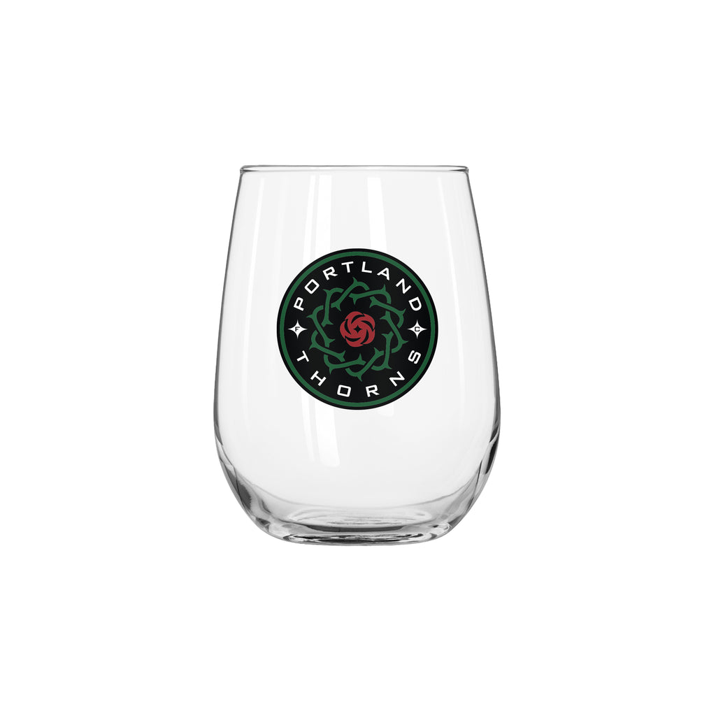 PORTLAND THORNS FC CURVED BEV GLASS