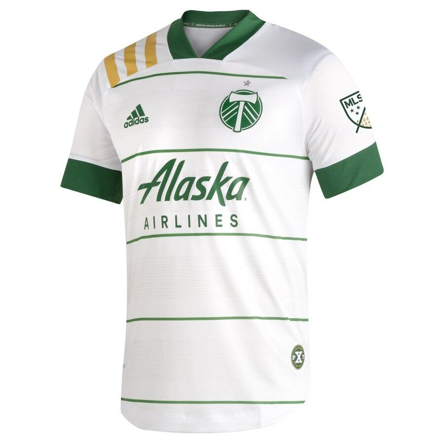 PORTLAND TIMBERS FC 2021 MEN'S AUTHENTIC SECONDARY JERSEY With TikTok Logo
