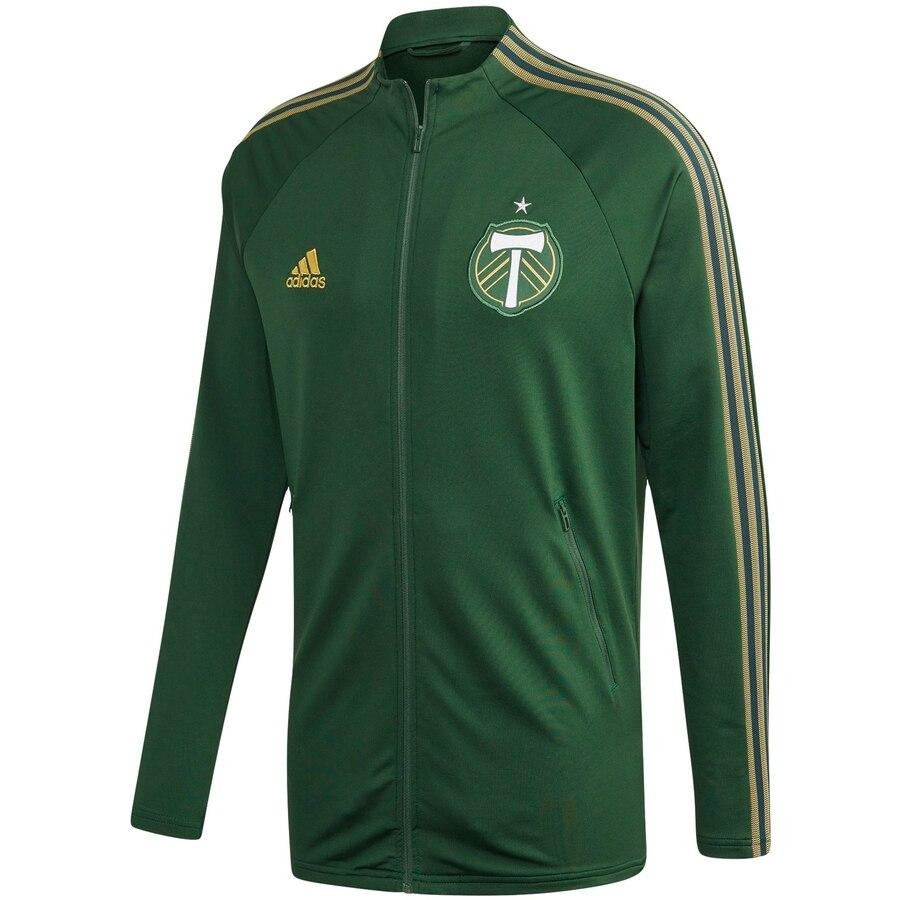 PORTLAND TIMBERS FC MEN'S 2020 LONG SLEEVE ANTHEM JACKET