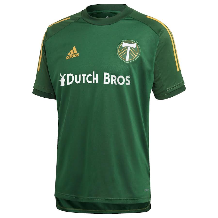 PORTLAND TIMBERS FC 2020 MEN'S TRAINING JERSEY