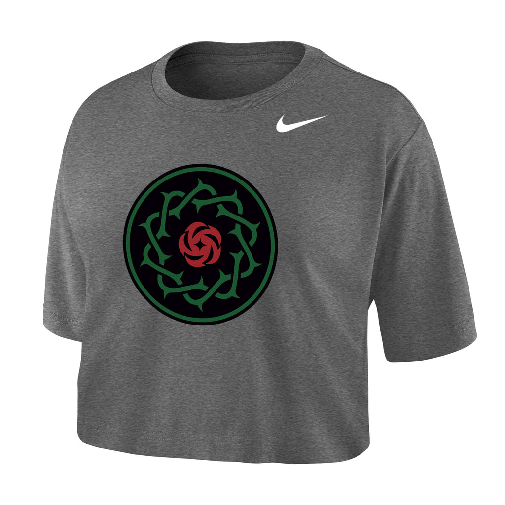 PORTLAND THORNS FC WOMEN'S CROPPED SHORT SLEEVE TEE