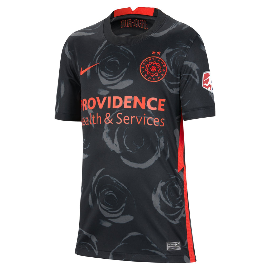 "PRE CUSTOMIZED ""HEATH"" PORTLAND THORNS FC YOUTH 2020 REPLICA PRIMARY JERSEY"