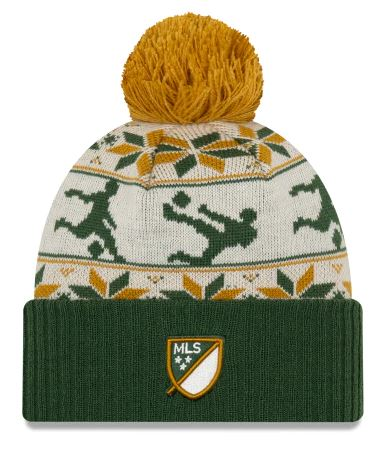 PORTLAND TIMBERS FC 2019 UGLY SWEATER KNIT BEANIE HAT