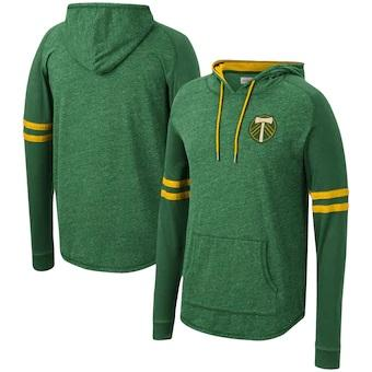 PORTLAND TIMBERS FC MEN'S LONG SLEEVE LIGHT WEIGHT HOODIE  2.0