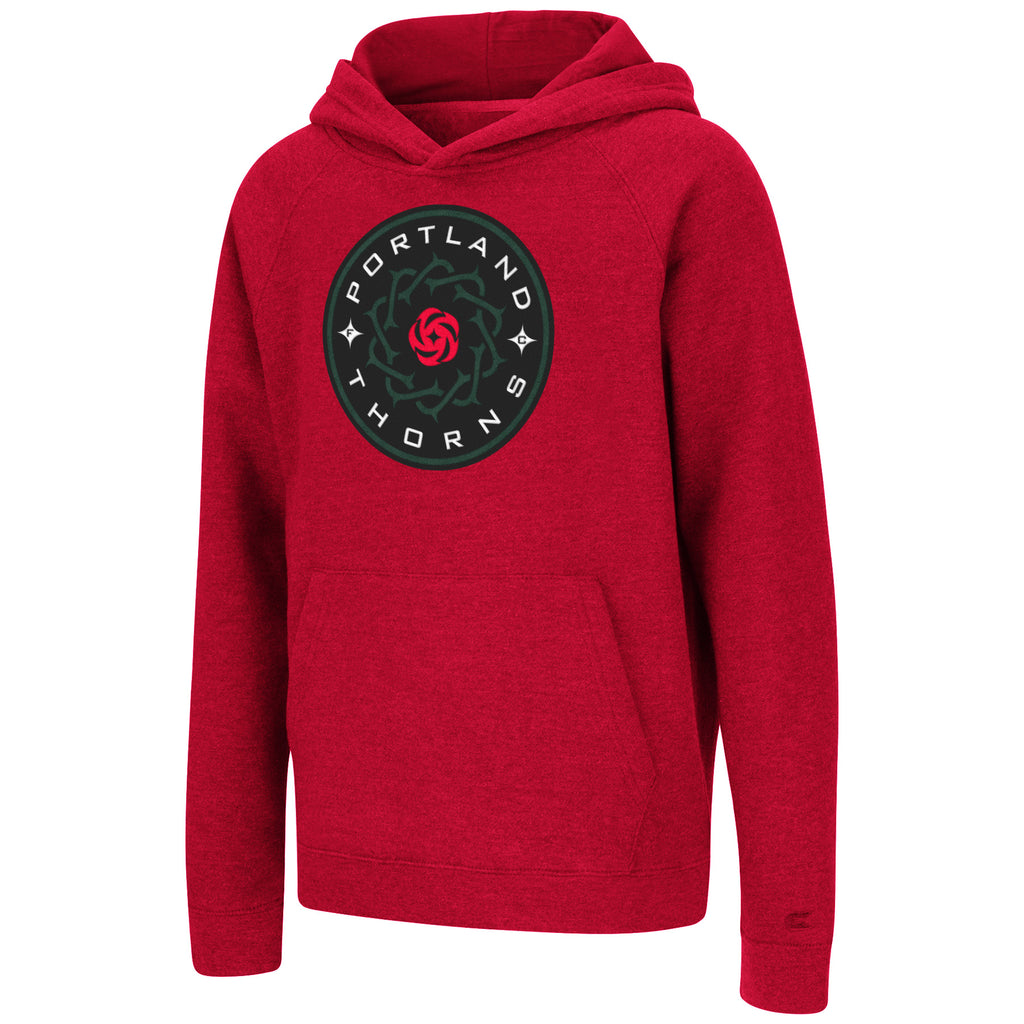 Portland Thorns FC Youth Tackle Twill Hoody - Red