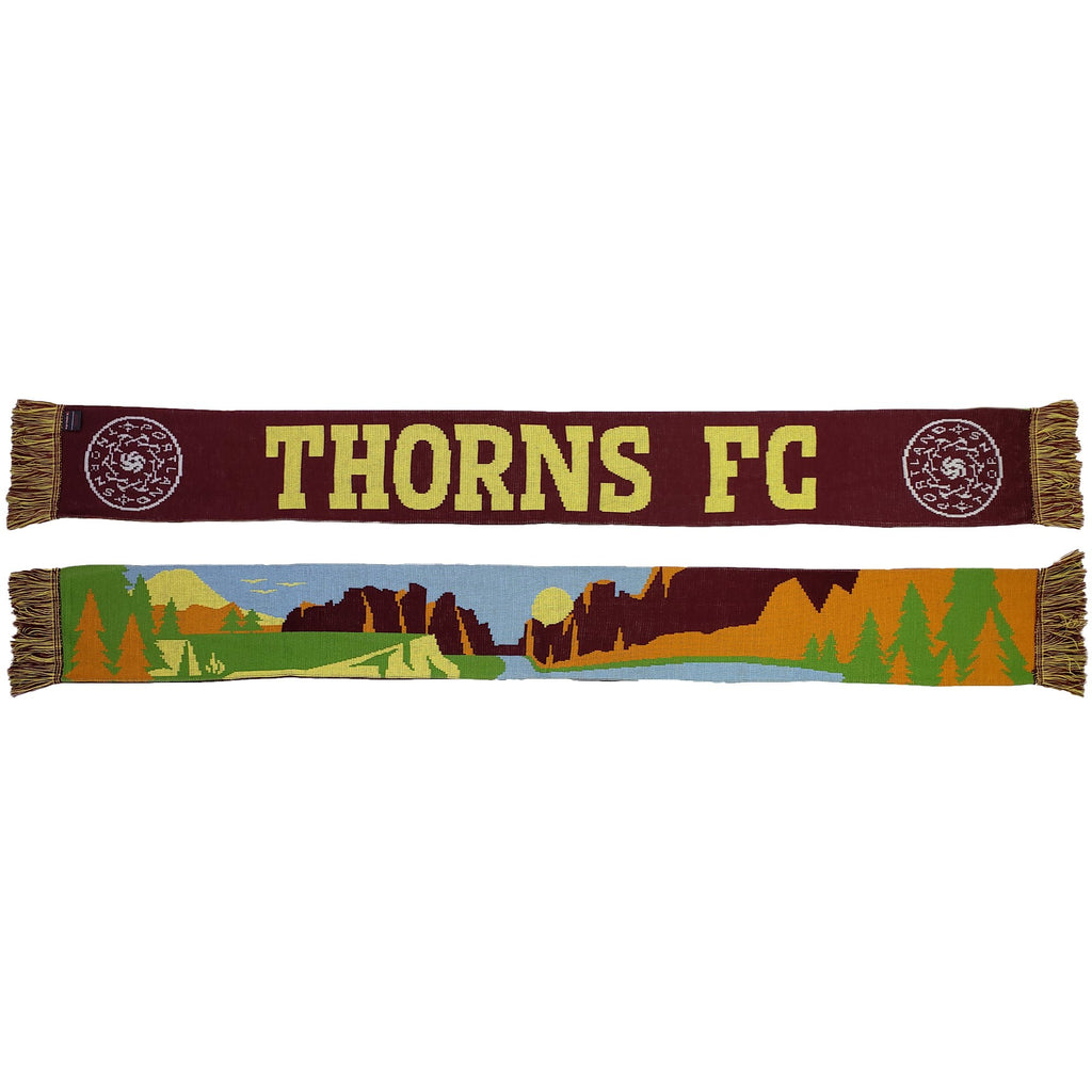Portland Thorns FC Smith Rock Scarf - Brown
