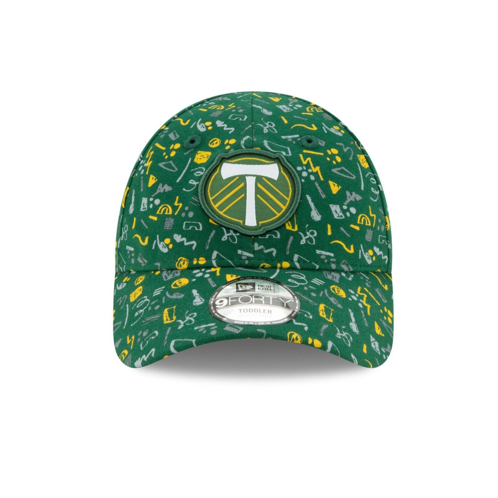 PORTLAND TIMBERS FC YOUTH TOD HAT PATTERN