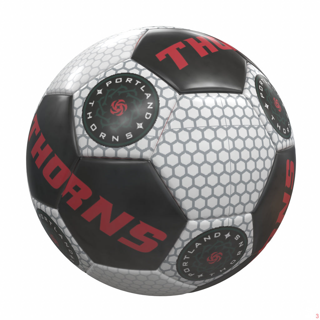 PORTLAND THORNS FC LOGO MINI BALL