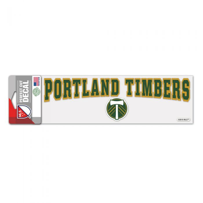 PORTLAND TIMBERS FC 3X10 DECAL