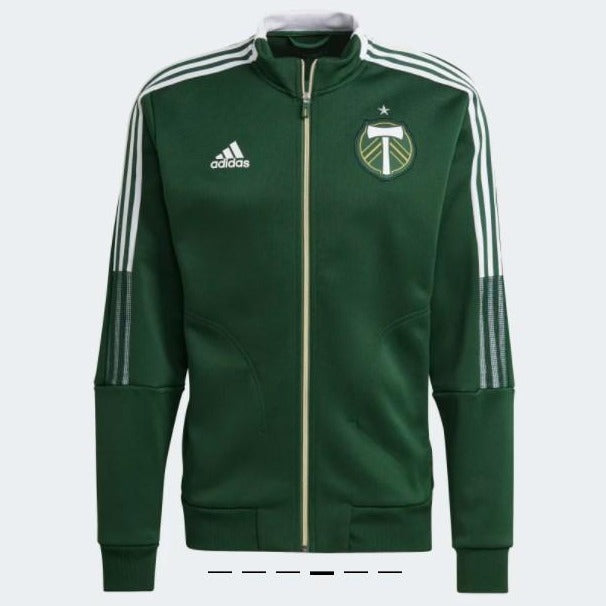 PORTLAND TIMBERS FC MEN'S LONG SLEEVE 2021 ANTHEM JACKET