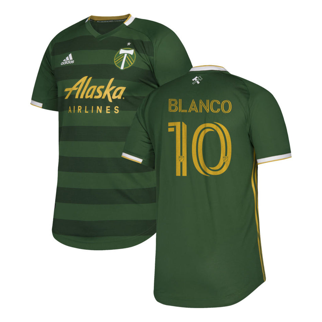 PORTLAND TIMBERS FC 2020 MEN'S AUTHENTIC PRIMARY JERSEY - BLANCO