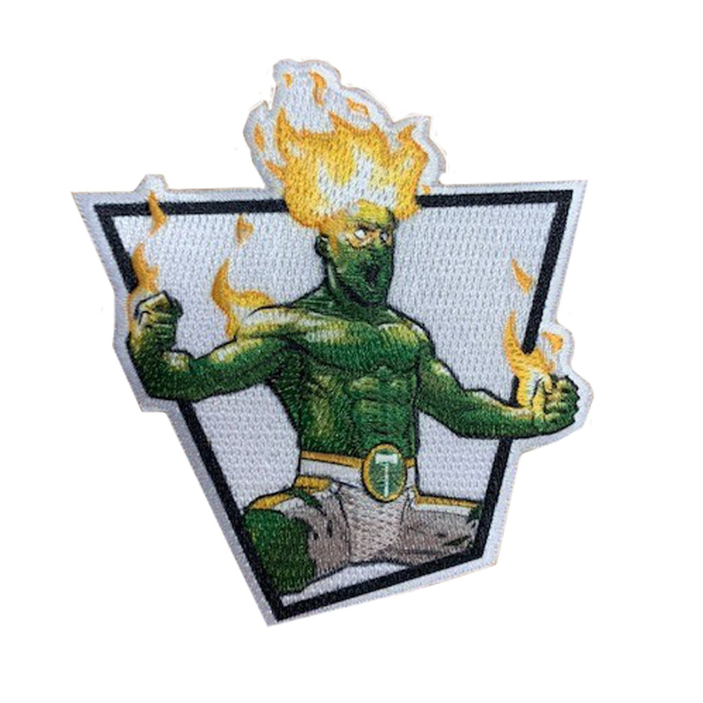 PORTLAND TIMBERS FC BLANCO SUPERHERO PATCH