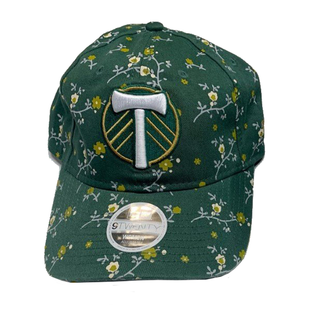PORTLAND TIMBERS FC WOMEN'S 9TWENTY BLOSSOM ADJUSTABLE