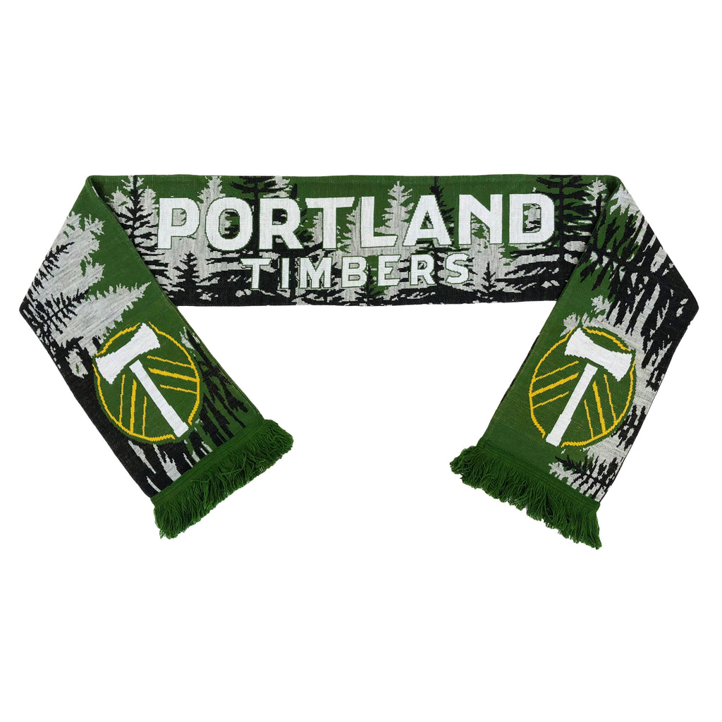 PORTLAND TIMBERS FC FOREST SCARF