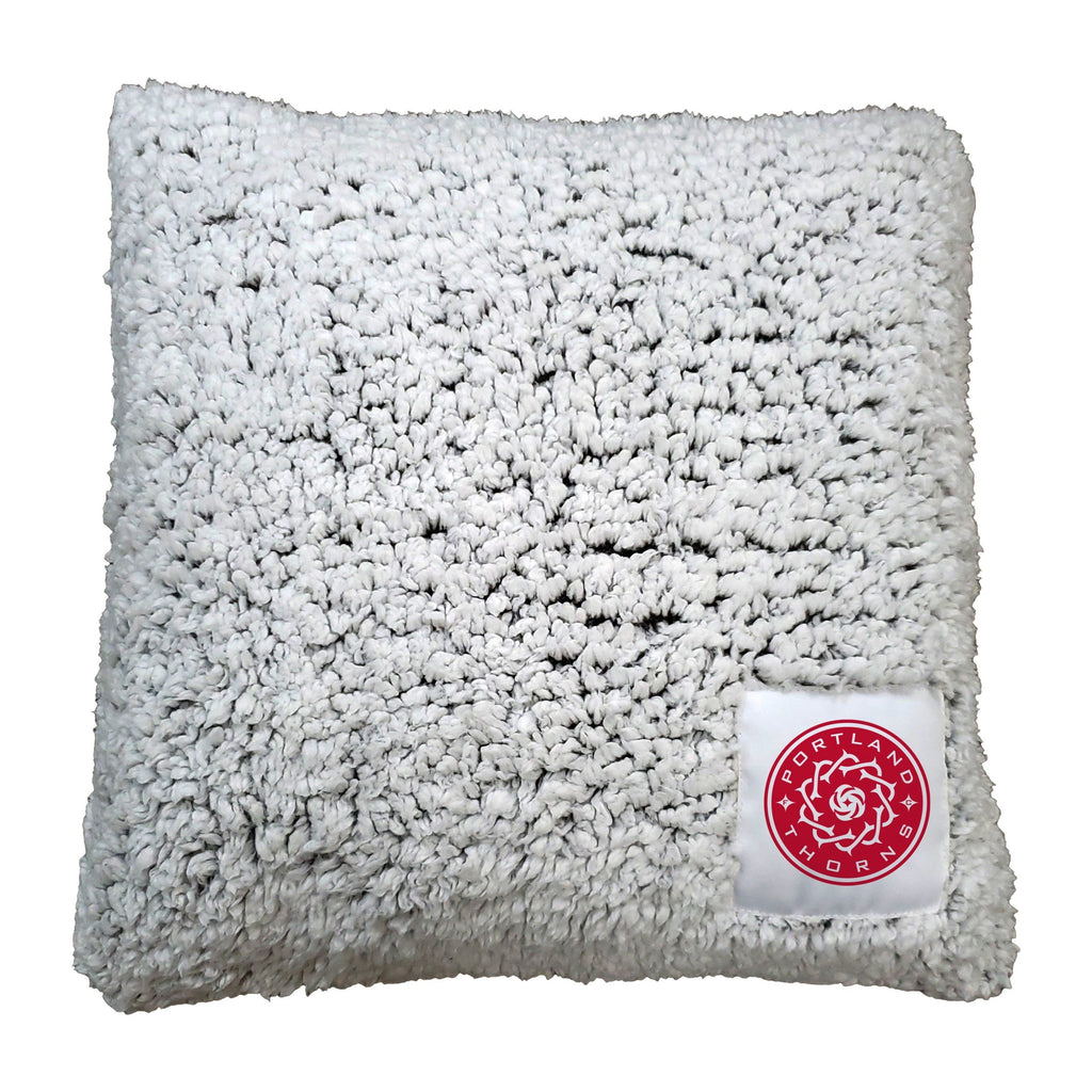 Portland Thorns FC Frosty Fleece Pillow - Grey
