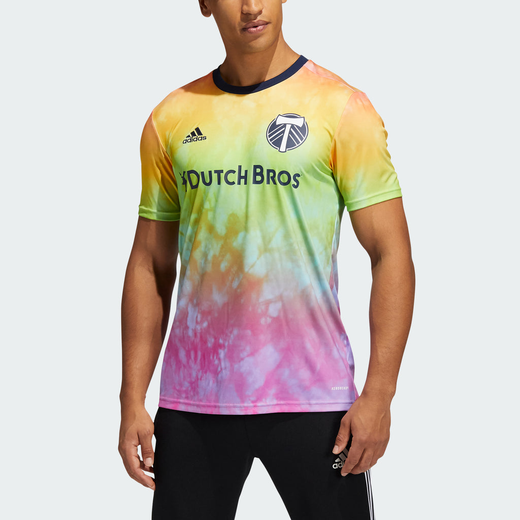 PORTLAND TIMBERS FC 2020-21 MEN'S PRIDE TRAINING JERSEY