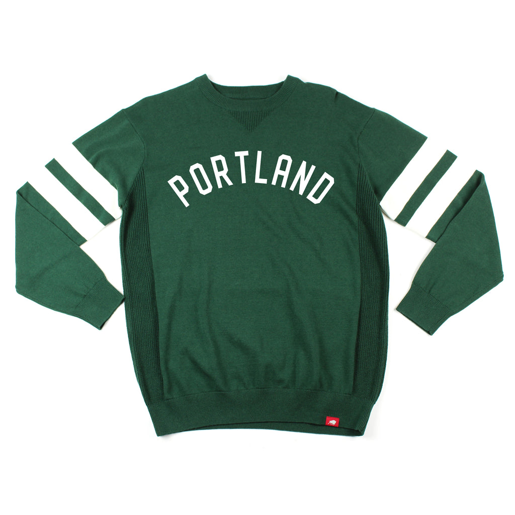 PORTLAND TIMBERS FC MEN'S LONG SLEEVE PORTLAND STATE CREW