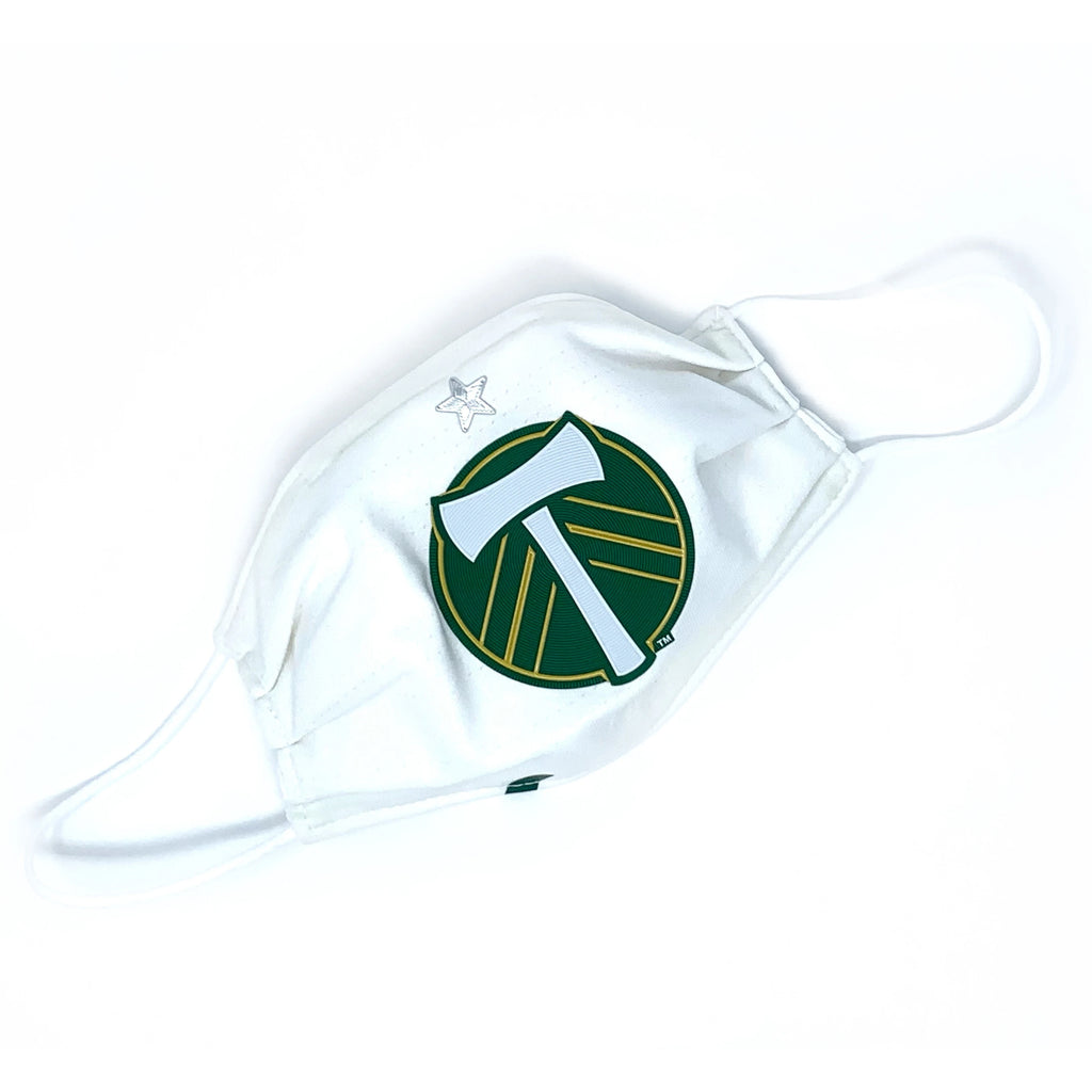PORTLAND TIMBERS FC LOOPTWORKS FACE MASK W/ SHIELD